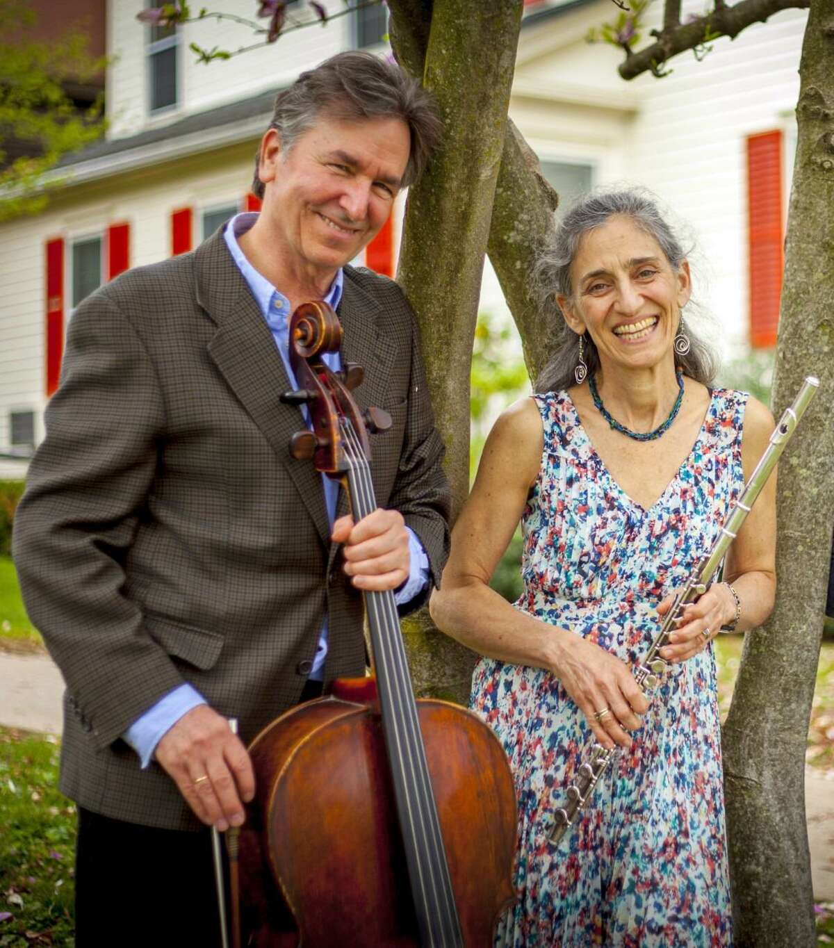 From left, Eliot Bailen and Susan Rotholz.