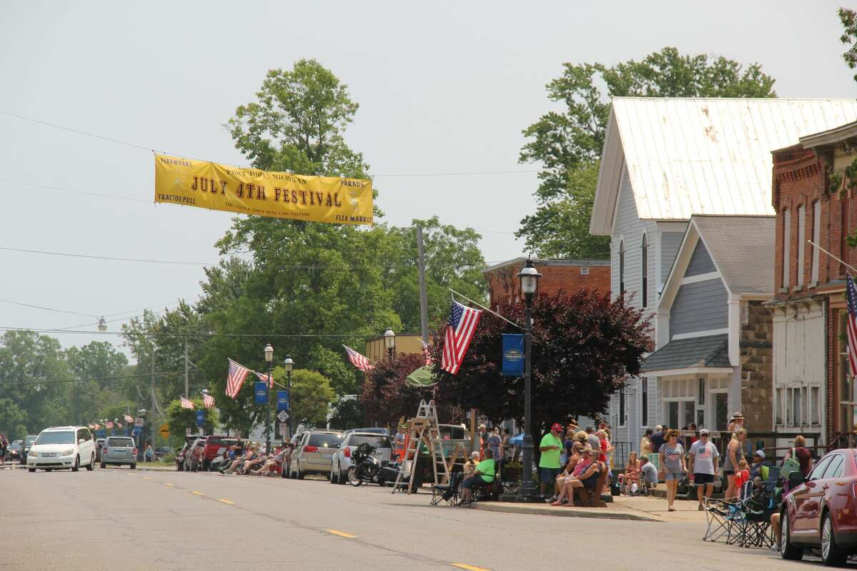 The Big Parade wrapped up Port Hope's Fourth of July celebrations on Sunday. The parade featured plenty of patriotic displays along with old cars and tractors.