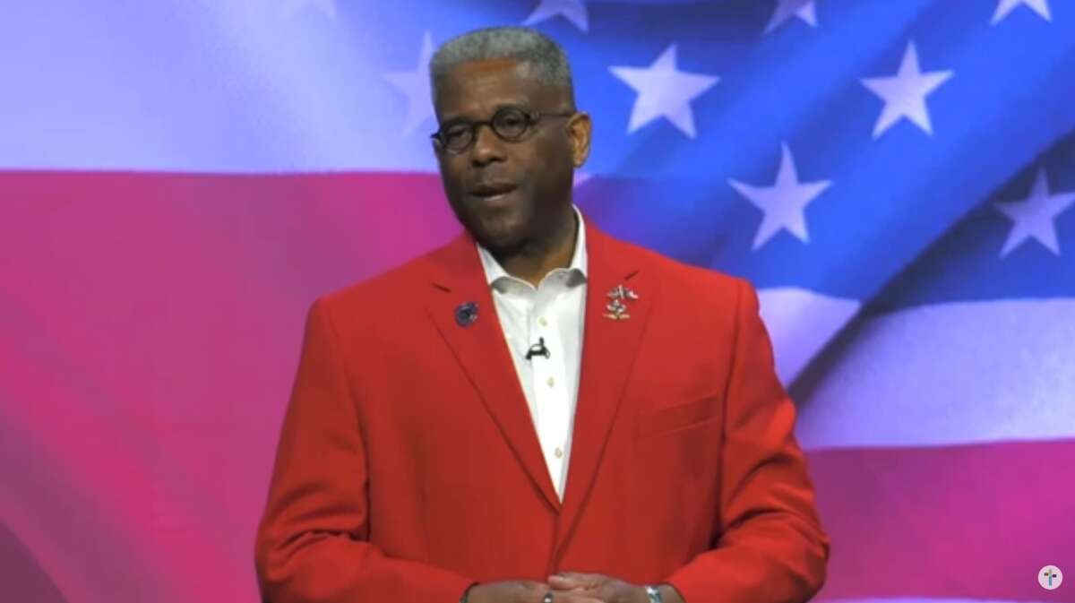Allen West, the former Texas Republican Party Chairman, announced Sunday he would challenge Gov. Greg Abbott in next year's primary while speaking to the congregation of Sojourn Church in Carrollton.