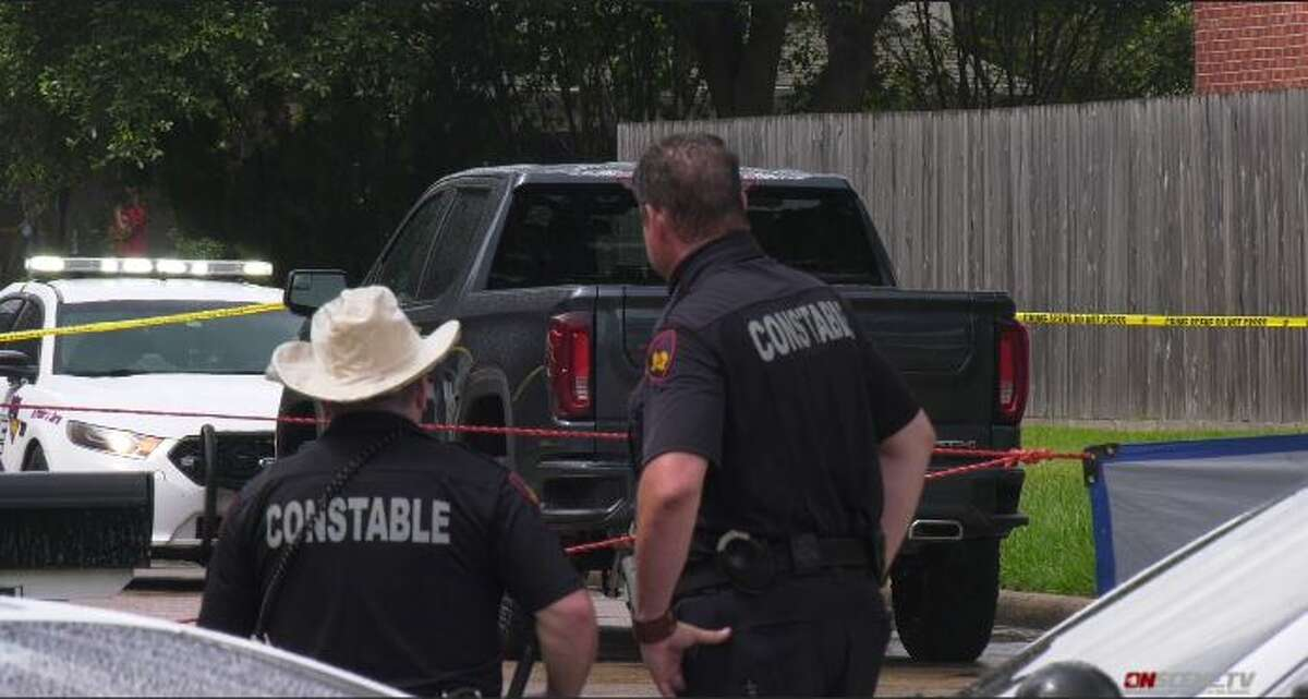 A child on Sunday was hit and killed by the father's truck in northwest Harris County, according to reports. The crash occurred in the 16300 block of Sugar Tree.