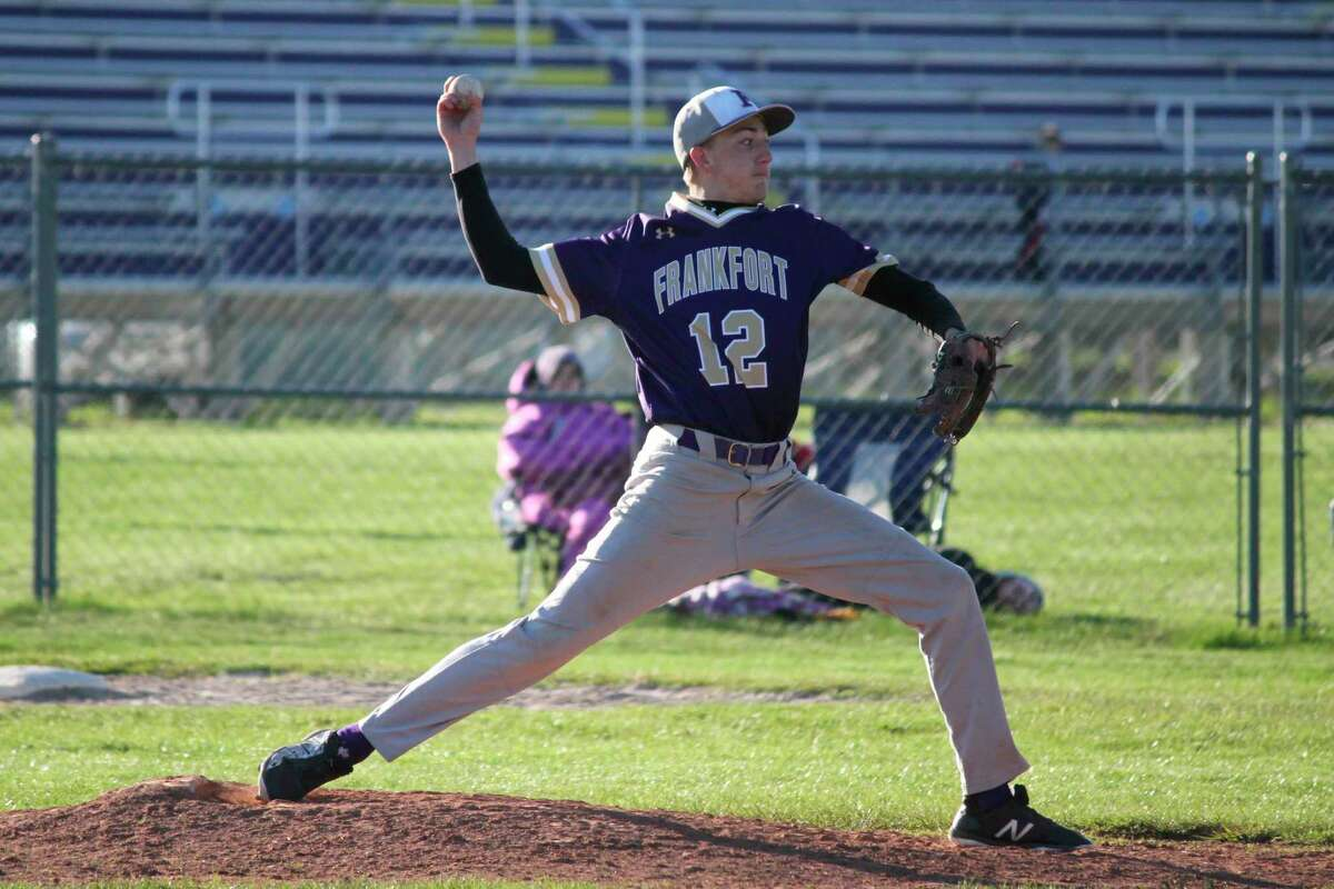 Logan Lewis led the Panthers in strikeouts and innings pitched this spring. (Record Patriot file photo)