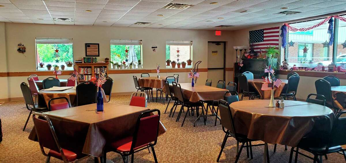 The Gathering Place Senior Center will reopen with a new layout that will allow for more space between people, as well as a different method of serving lunch. (Courtesy Photo)