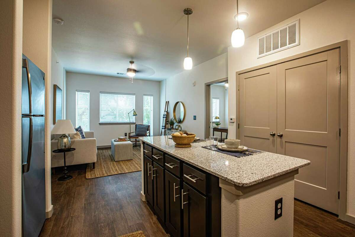 An apartment at Village at Roosevelt, a 57-unit complex on San Antonio's South Side.