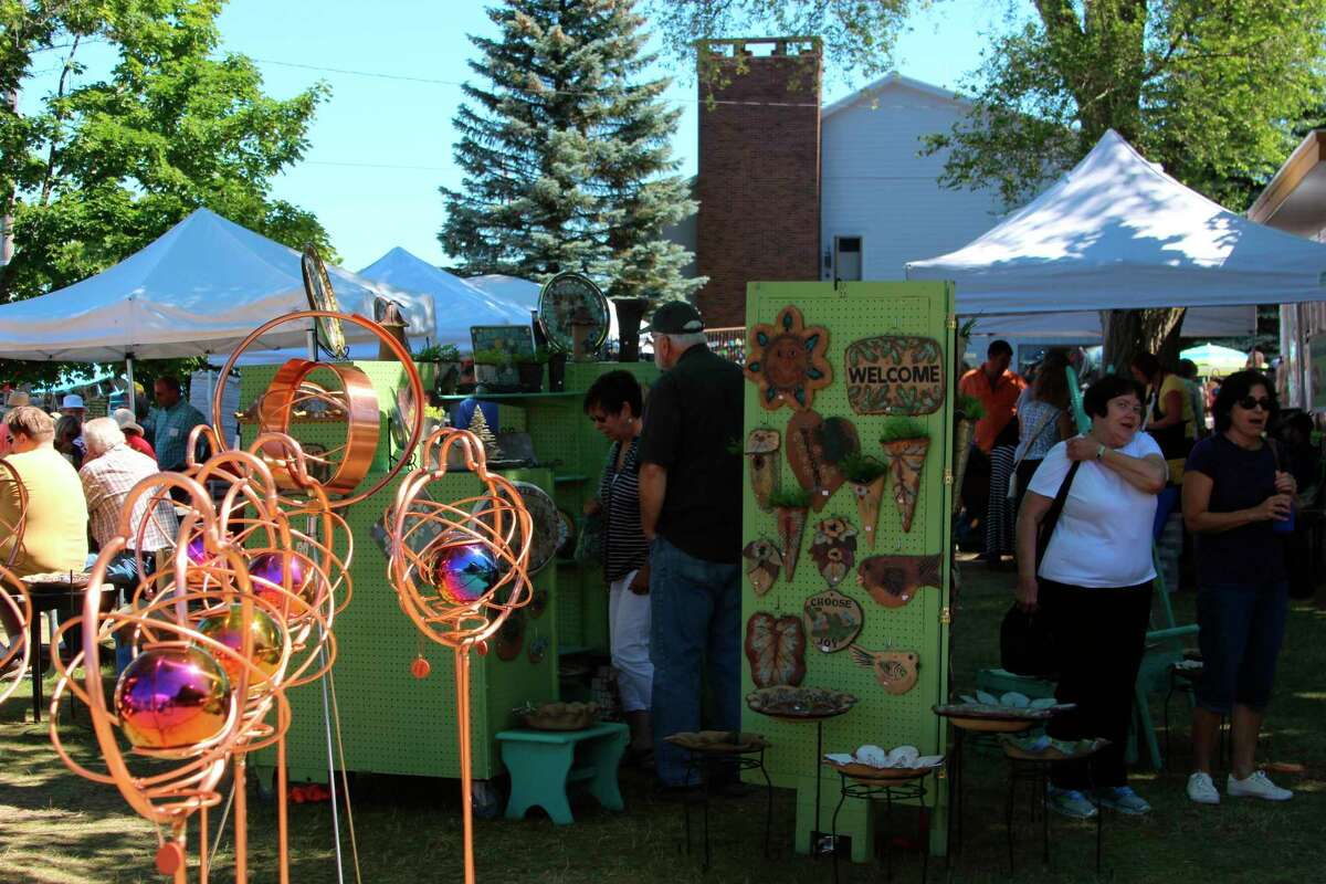 The Beulah Art Fair brings in artists from across the Midwest. (File Photo)