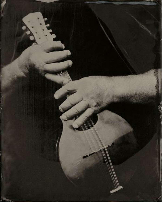 Pat Shields, 2011, tintype.