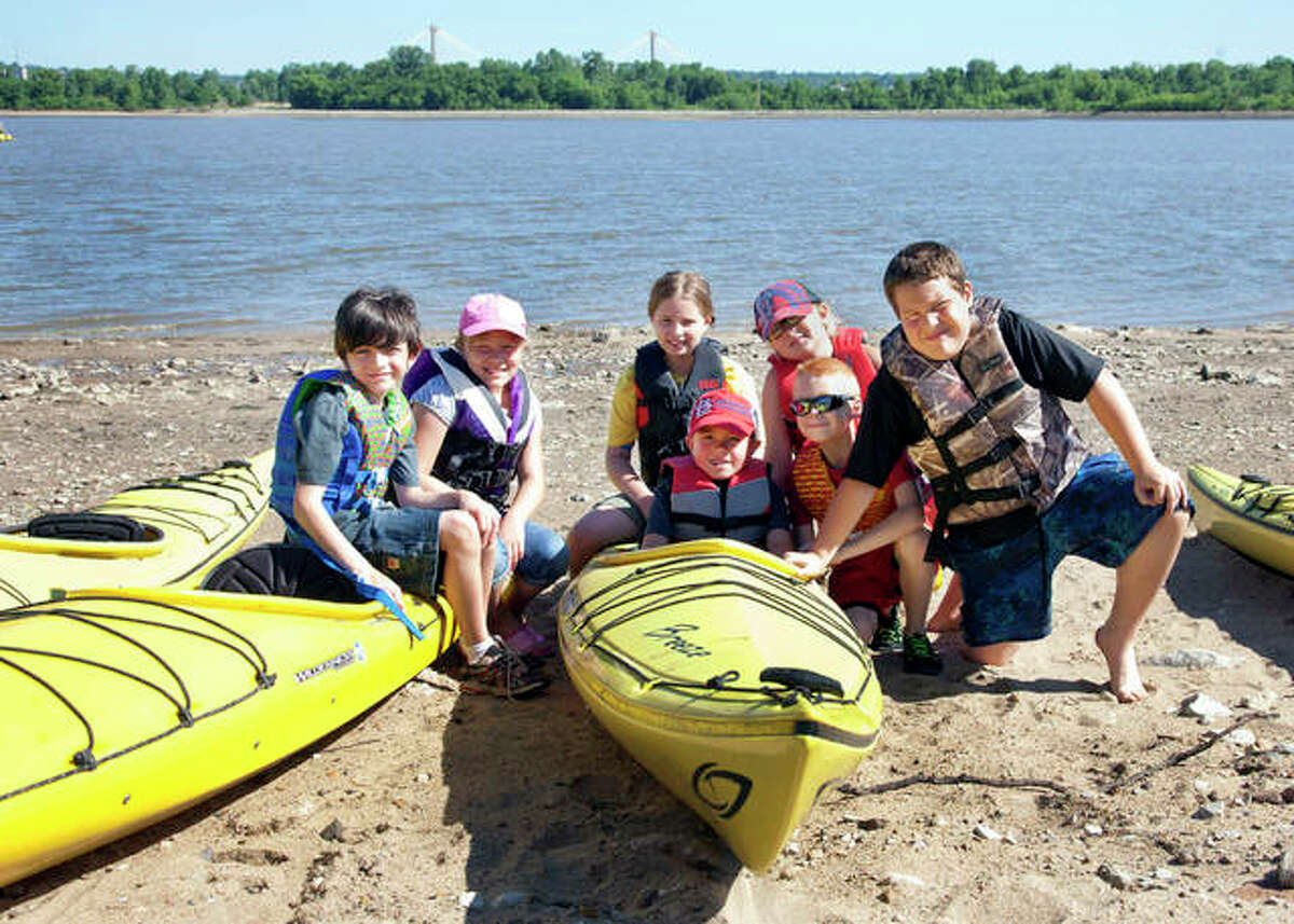 Previous kids from Camp Waterschool. The camp will run from July 6-9 and Aug. 9-12