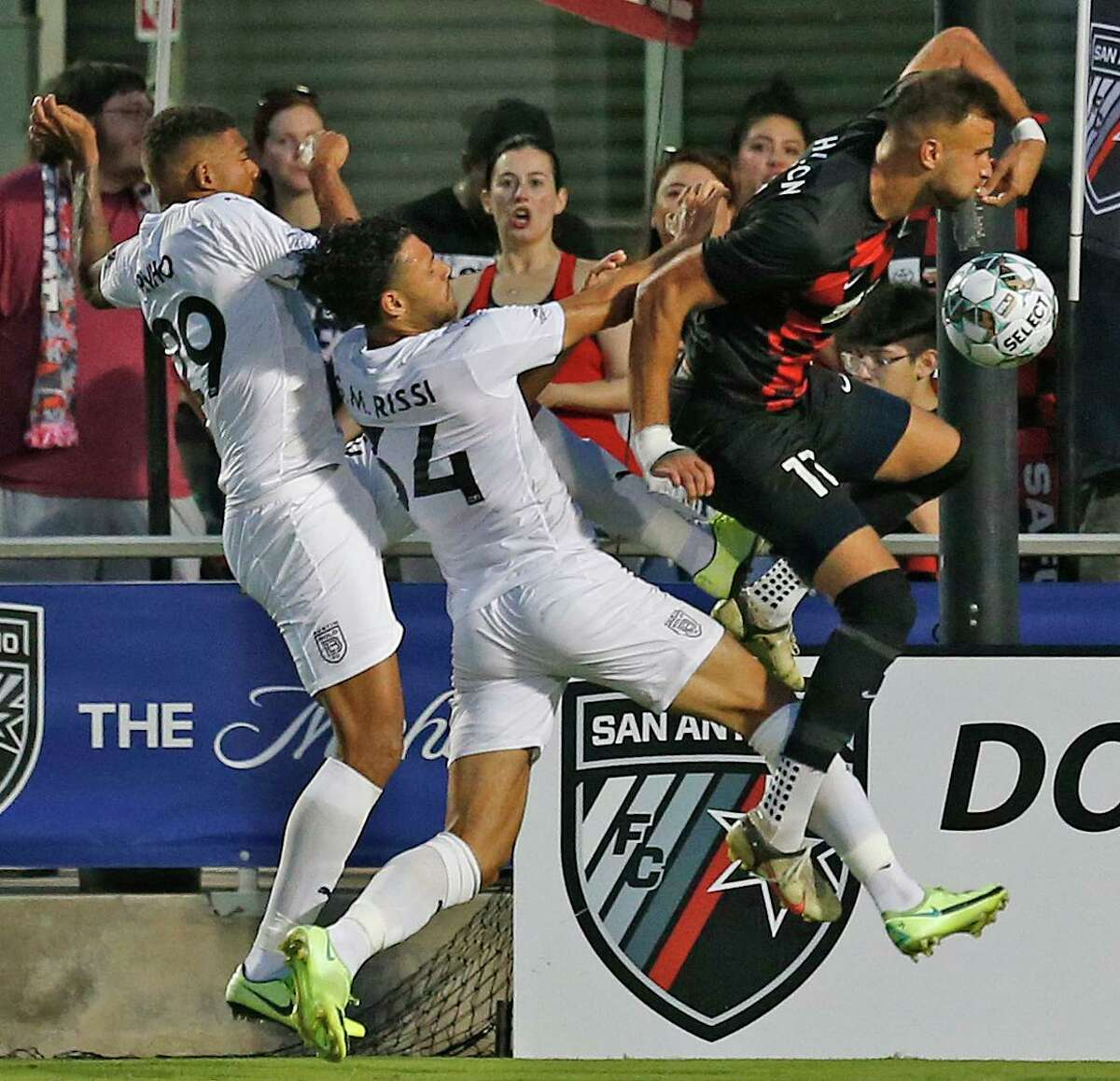 Justin Dhillon, right, and San Antonio FC will play two Liga MX clubs this week.