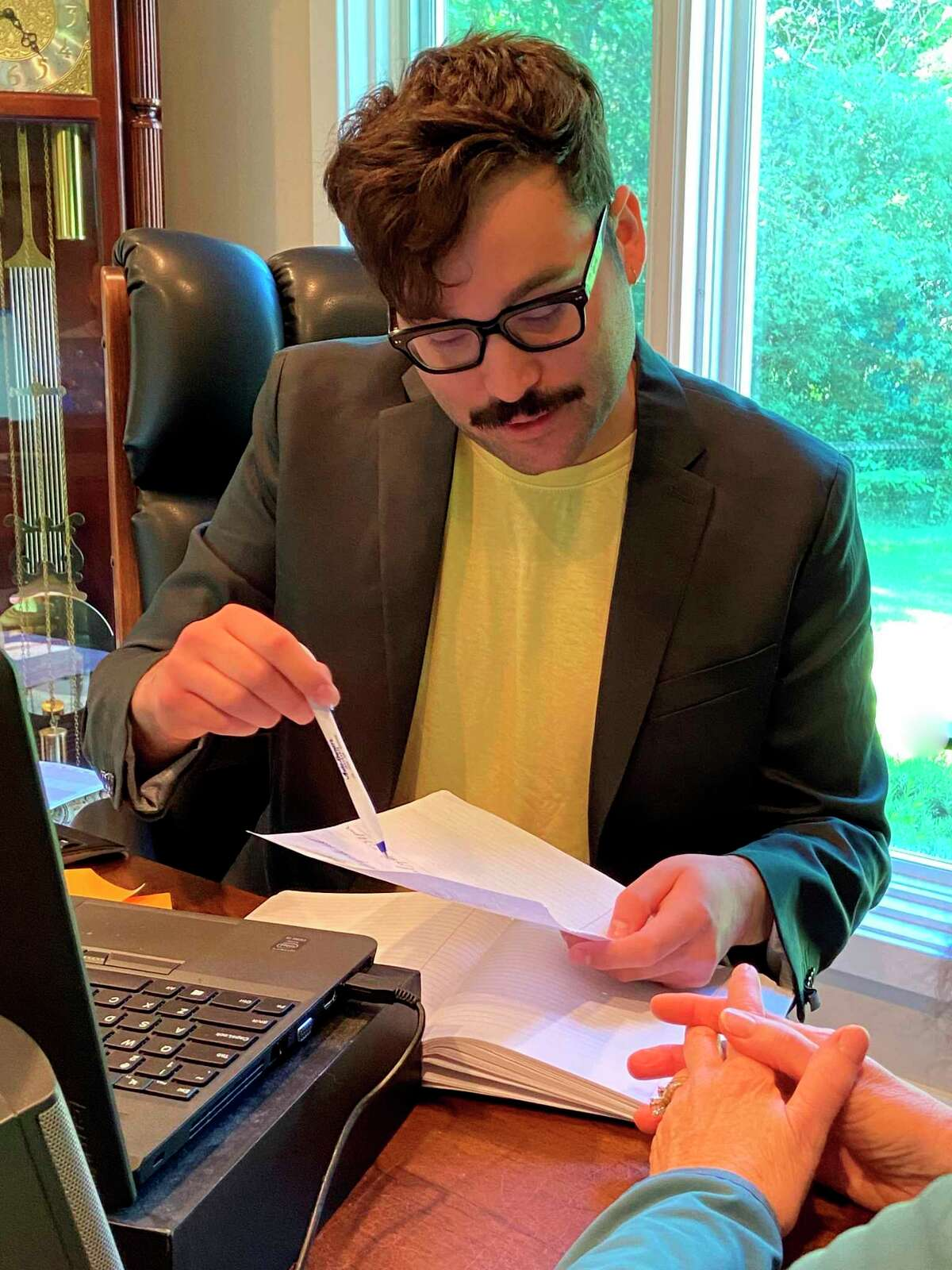 Michigan State University Ph. D. candidate Lucas Prieto will assist withthe financial abuse study. (Courtesy photo)