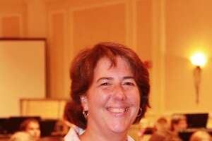 Kathleen Richards Ehlinger, director of the town band since 2002. (Provided)