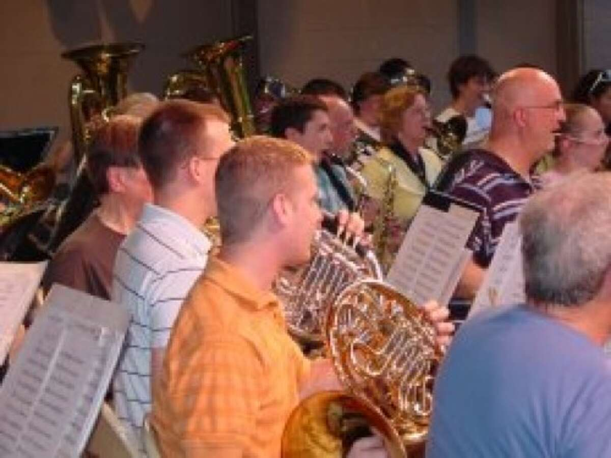 The Guilderland Town Band, where musicians young and old get a chance to ply the talents in a public forum.