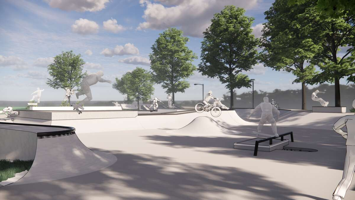 Skateboarding has evolved quite a bit in recent decades - this summer it will even be an Olympic sport. Locally, the proposed New Paltz Skate Garden, pictured above, is altering the design of skate parks to blend more park-like features like greenery and trees into the concrete-heavy spaces to soften the aesthetic and broaden their appeal.