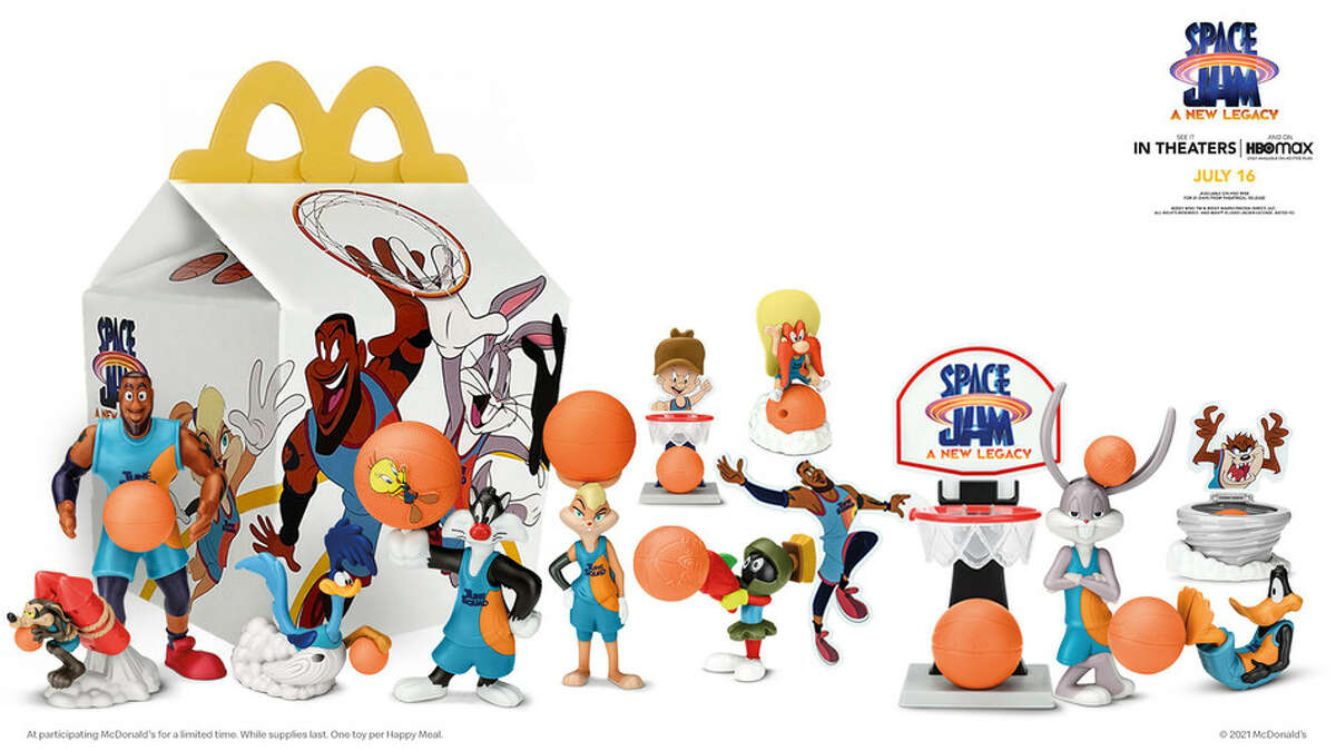 Space Jam: A New Legacy Happy Meal at McDonald's