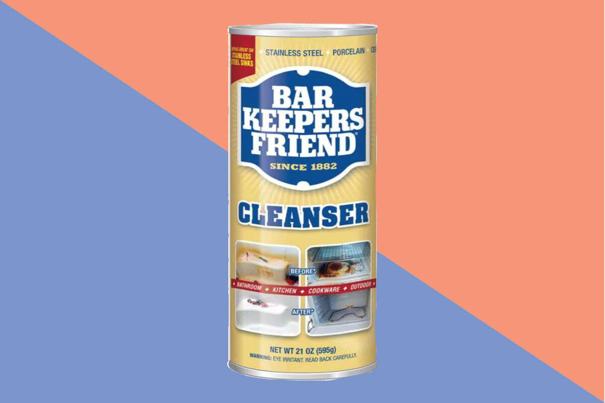 Bar Keeper's Friend 21 oz. All-Purpose Cleanser and Polish, $2.18 at Home Depot