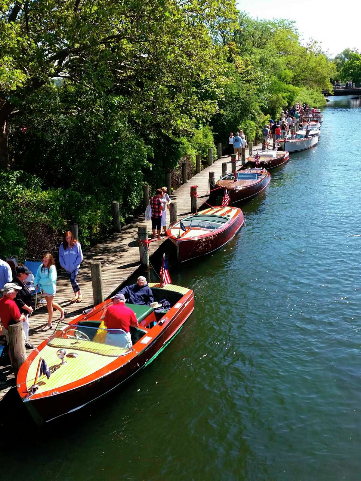 New and vintage boats will be on display at the 33rd annual Boats on the Boardwalk in downtown Traverse City on Aug 7. (Submitted photo)