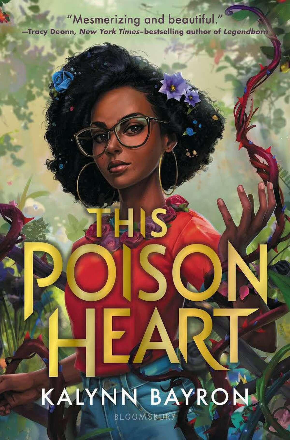 """San Antonio writer Kalynn Bayron's latest YA novel, """"This Poison Heart,"""" is about a teenager with mysterious botanical abilities."""