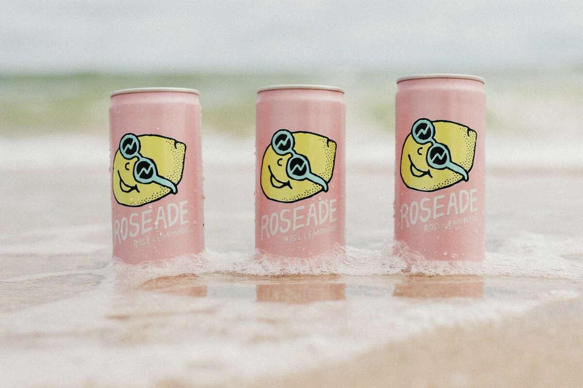Roseade rose lemonade spritzer