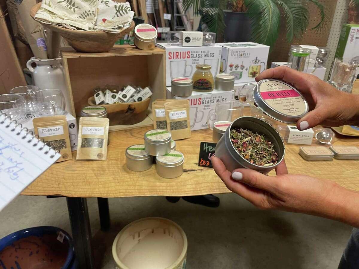 Becky Goetsch, owner of Killingworth's Running Brook Hemp, is applying to become a micro-cultivator of recreational marijuana. She already grows marijuana plants heavy with CBD.