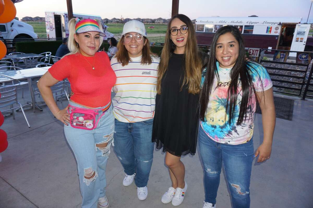 Aberdeem Gonzalez, Michelle Rodriguez, Pileta Coss and Nana Treviño at Pla-Mor.
