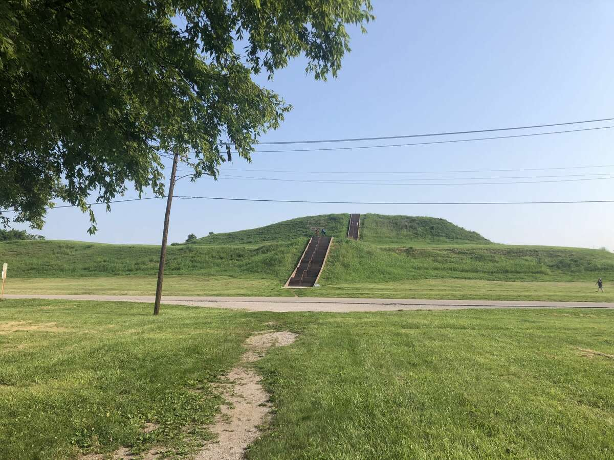 Cahokia Mounds is one of the most historic sites in the St. Louis area, once the largest city in North America. That includes the 13-acre Monk's Mound, which is quite the climb. The Cahokia Mounds area also includes Woodhenge and plenty of walking trail to explore. (File photo)