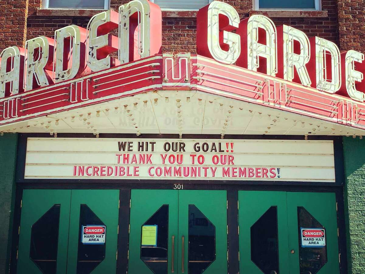 The Garden Theater announced they are concluding their capital campaign after hitting the goal of $2.1 million. (Courtesy Photo)