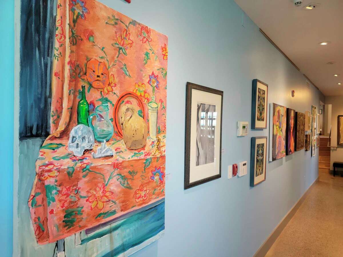 The 2021 Summer Members Exhibition is on display now at the Oliver Art Center. (Colin Merry/Record Patriot)