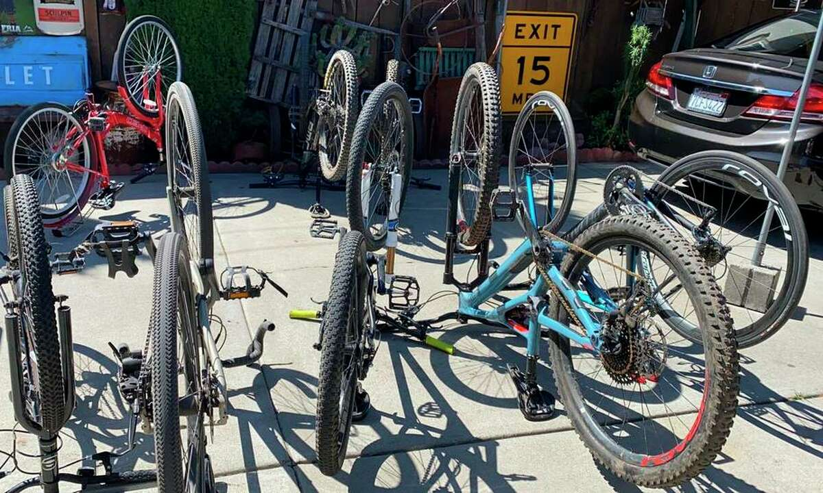 Multiple bikes, construction gear and other stolen items have been confiscated by officers as part of a six-month investigation, San Jose police reported.