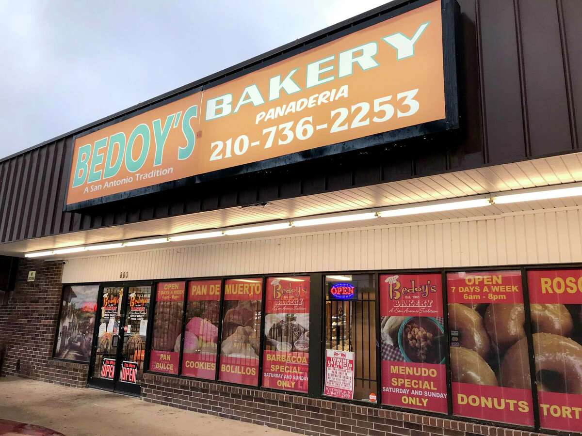 Bedoy's Bakery has two locations in San Antonio including this shop at 803 W. Hildebrand Ave.
