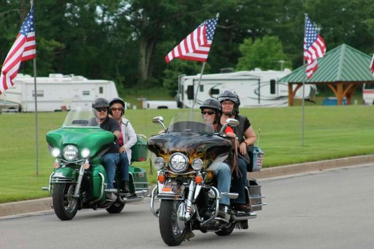 The 11th annual Thunder at the River will take place on July 9 and 10 at Little River Casino Resort, the feature event is a memorial ride on Saturday. (File Photo)