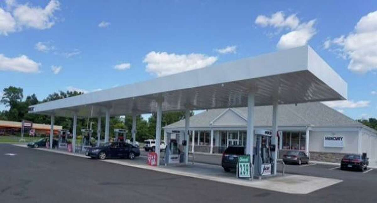 The Mercury Price Cutter convenience store and gas station in Old Saybrook. The station was sold to EG Group and will become a Cumberland Farms.