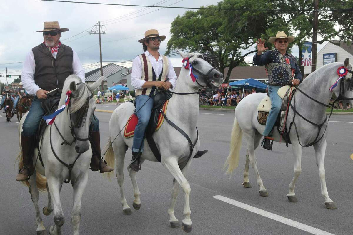 No parade is complete without riders on beautiful horses.