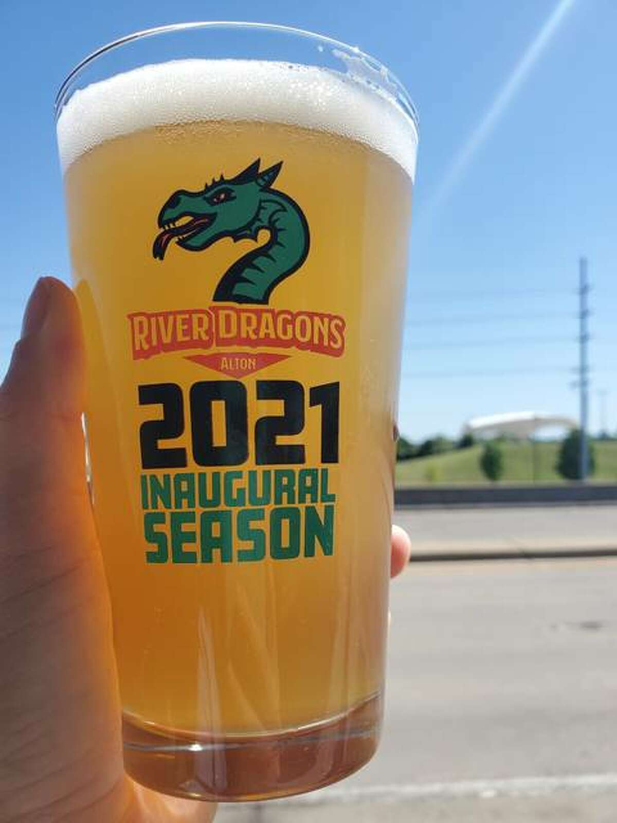 All-Star Restaurant Week returns to the Riverbend July 9-18. This year's commemorative glass celebrates the inaugural season of the River Dragons baseball in Alton.