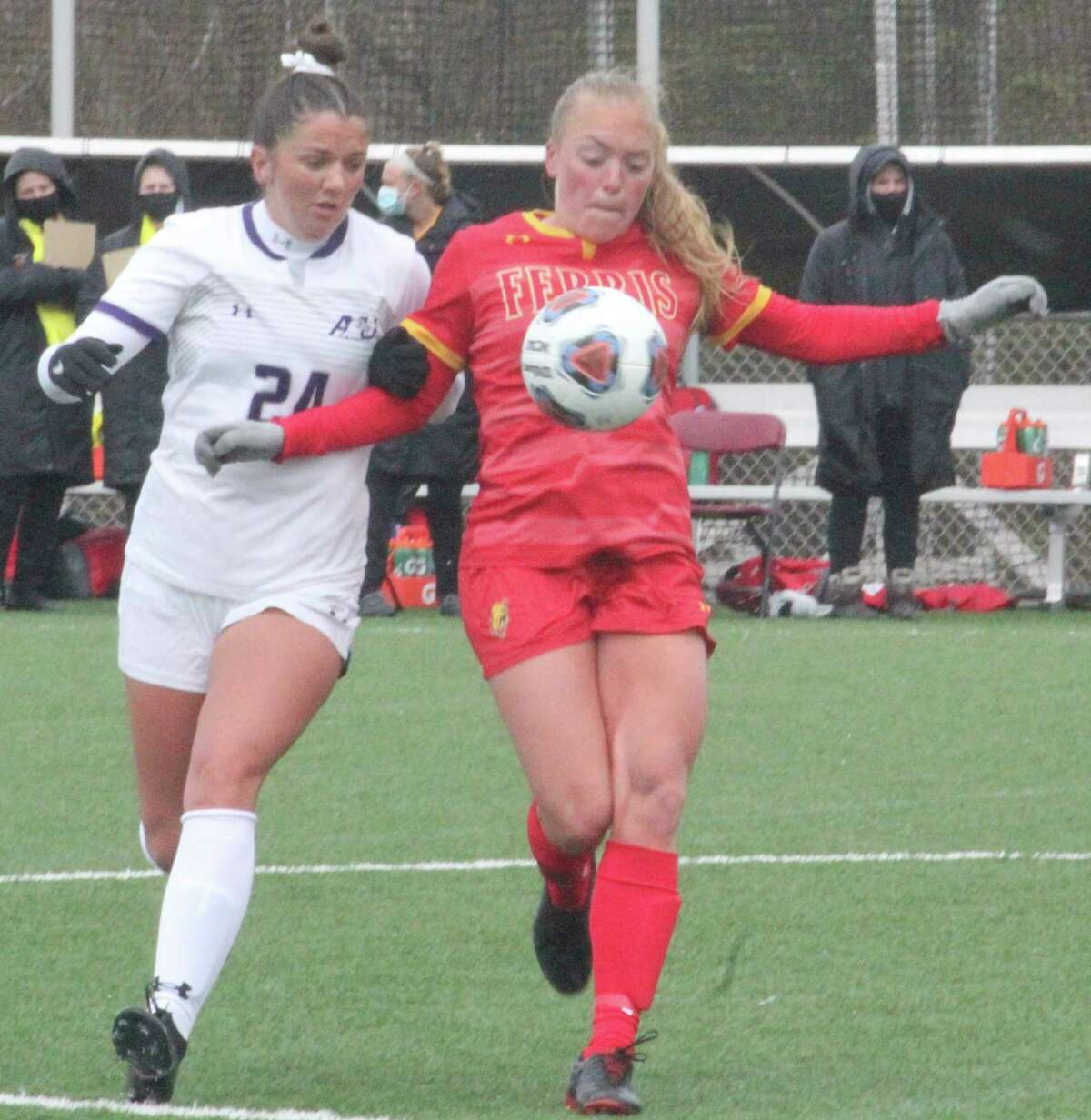 Mackenzie Dawes is among the Ferris players who has received prestigious academic recognition. (Pioneer file photo)