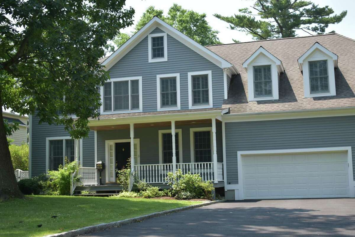 A Van Rensselaer Avenue home in Stamford, Conn., purchased for $1.4 million on June 30, 2021.