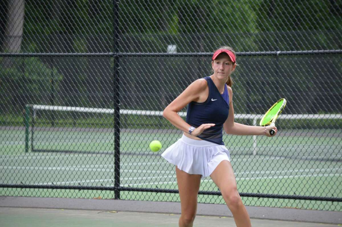Branford's Ava Esposito is 48th in the USTA rankings for the 18-and-under girls division.