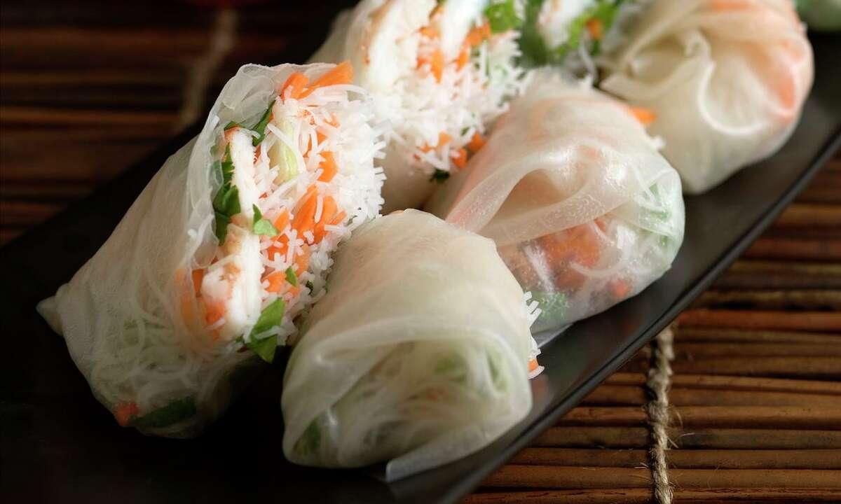Vietnamese-Style Salad Rolls