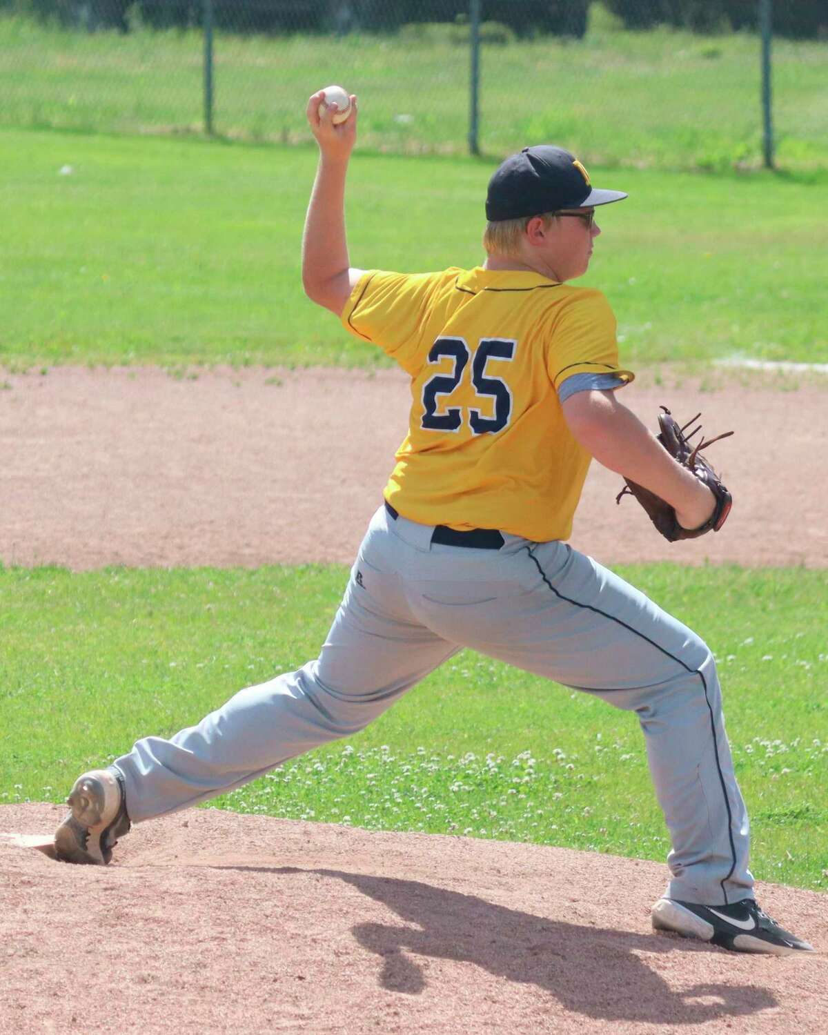Donavyn Kirchinger matured as a pitcher in 2021 to make the all-conference and all-district teams. (News Advocate file photo)