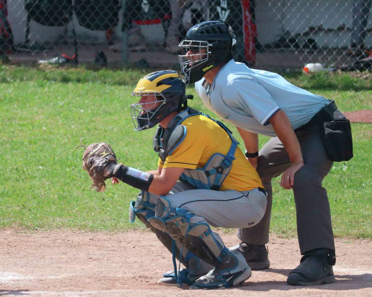 Jaret Edmondson stepped up with strong play at catcher as a freshman. (News Advocate file photo)