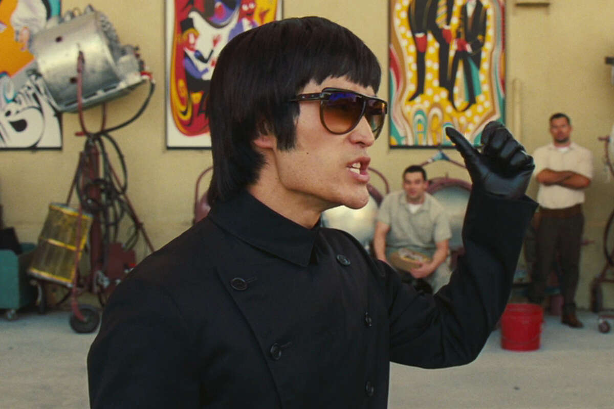 """Mike Moh as Bruce Lee in Quentin Tarantino's """"Once Upon a Time ... in Hollywood."""""""