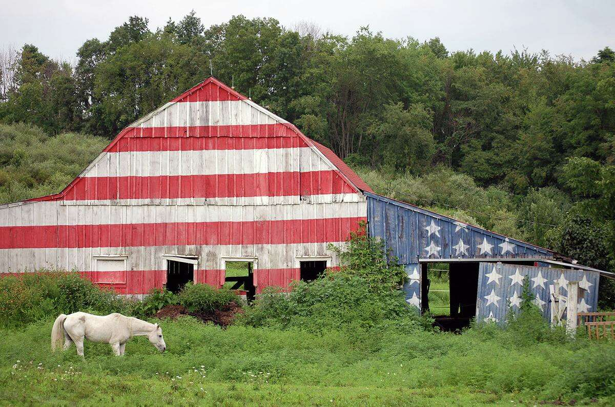 Robert Carley's collection of flag photographs will be featured in a new show at the Mattatuck Museum in Waterbury, opening July 8.