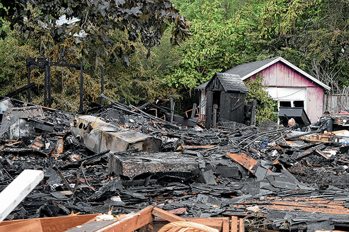 An investigation into the cause of a June 23 house explosion in Meredosia is ongoing.