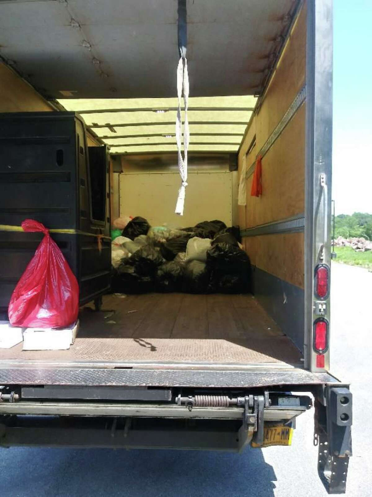 Stamford worked with HELPSY to hold a clothing drive at the Scofield Yard Recycling Center on June 5, 2021.