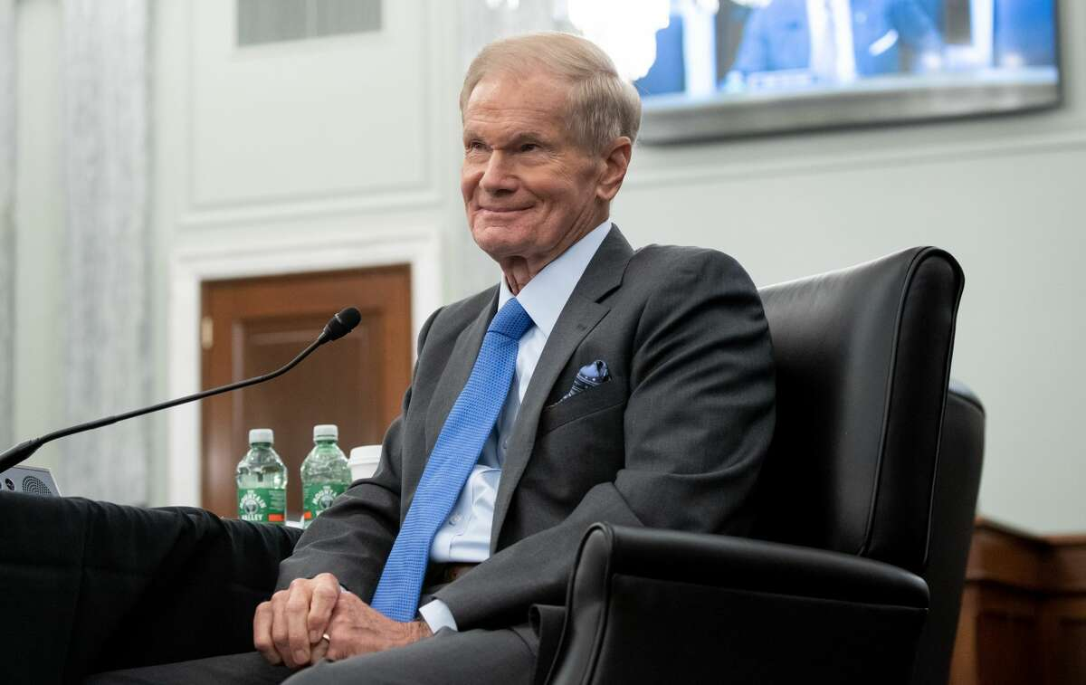 WASHINGTON, DC - APRIL 21: Former US Senator Bill Nelson, nominee to be administrator of NASA, attends a Senate Committee on Commerce, Science, and Transportation confirmation hearing on Capitol Hill on April 21, 2021 in Washington, DC. Nelson was a senator representing Florida from 2001-2019. (Photo by Saul Loeb-Pool/Getty Images)