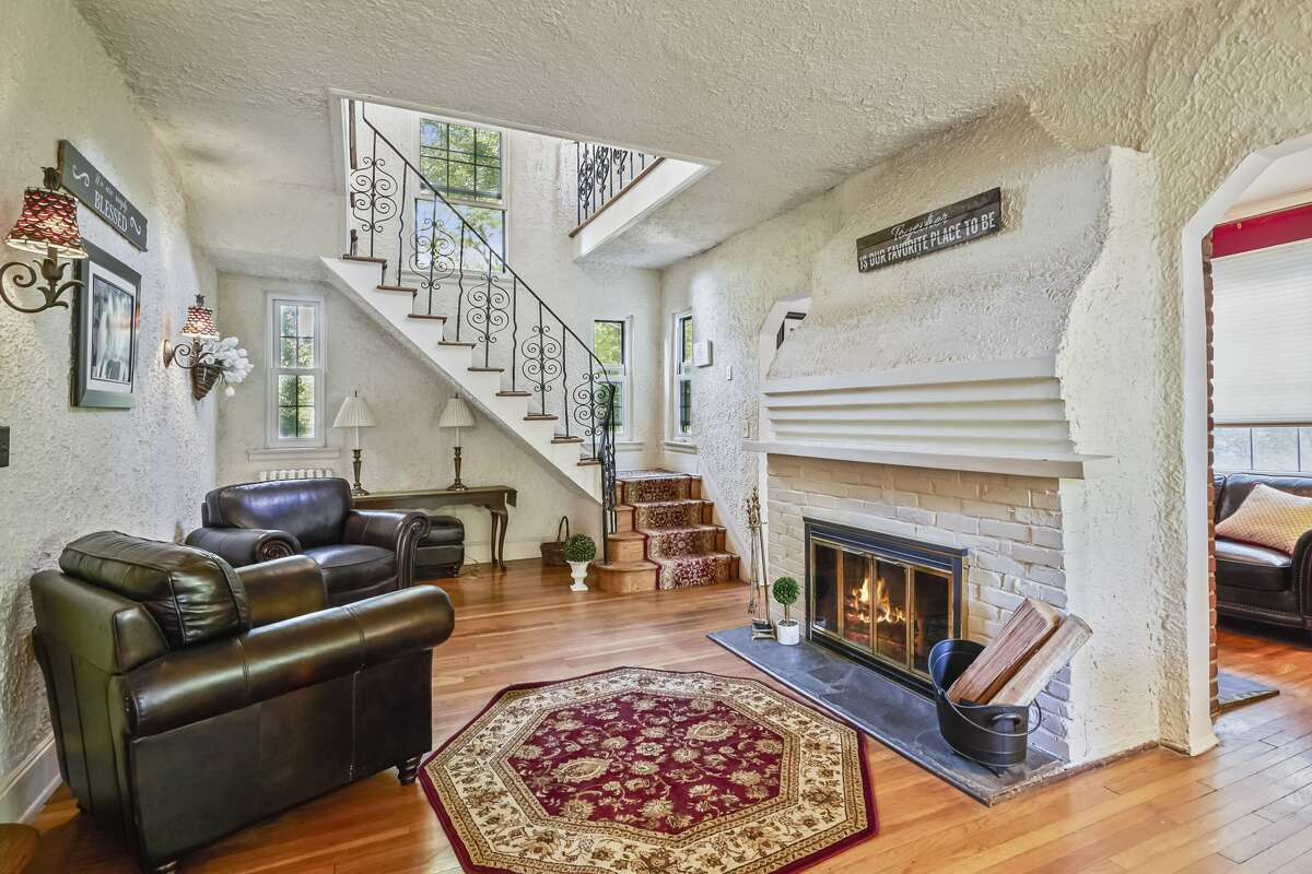 The house at 41 Lockwood Lane in Norwalk is on the market for $549,000.