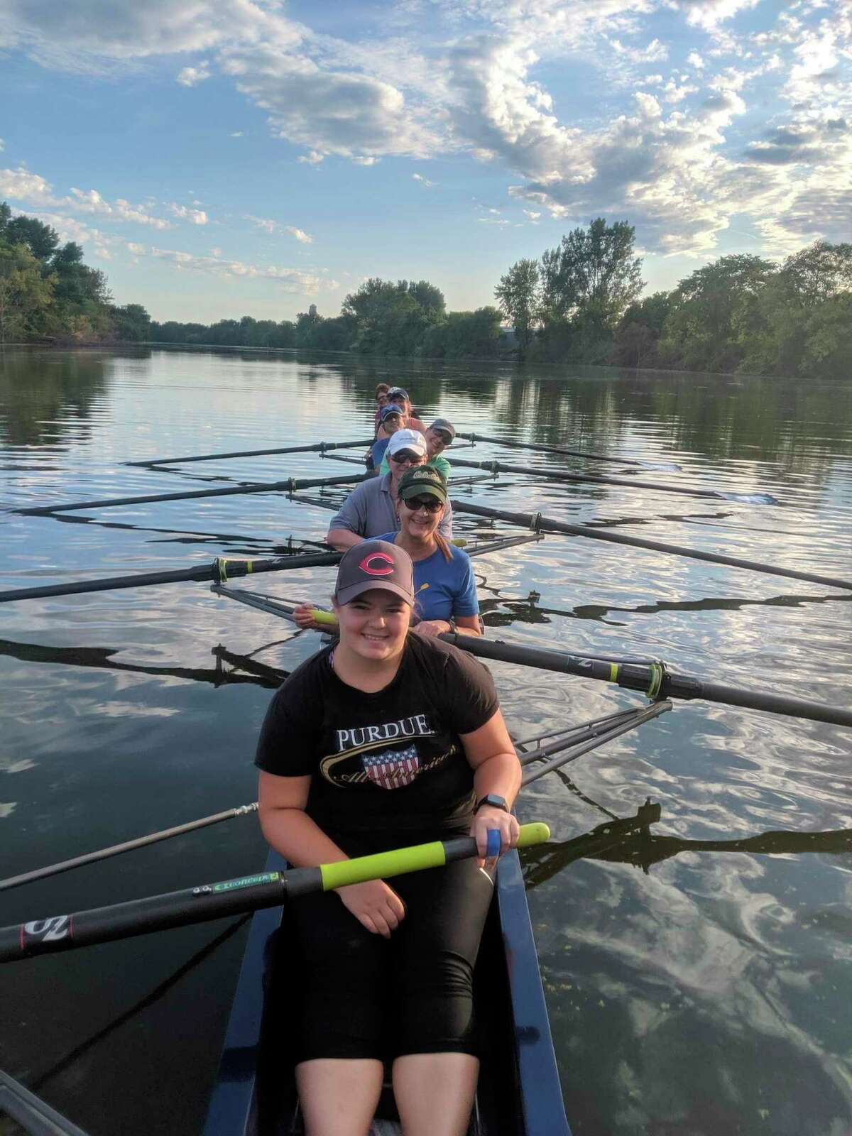 The Bay City Rowing Club is offering a Learn to Row Class for adults in August. (Photo provided)