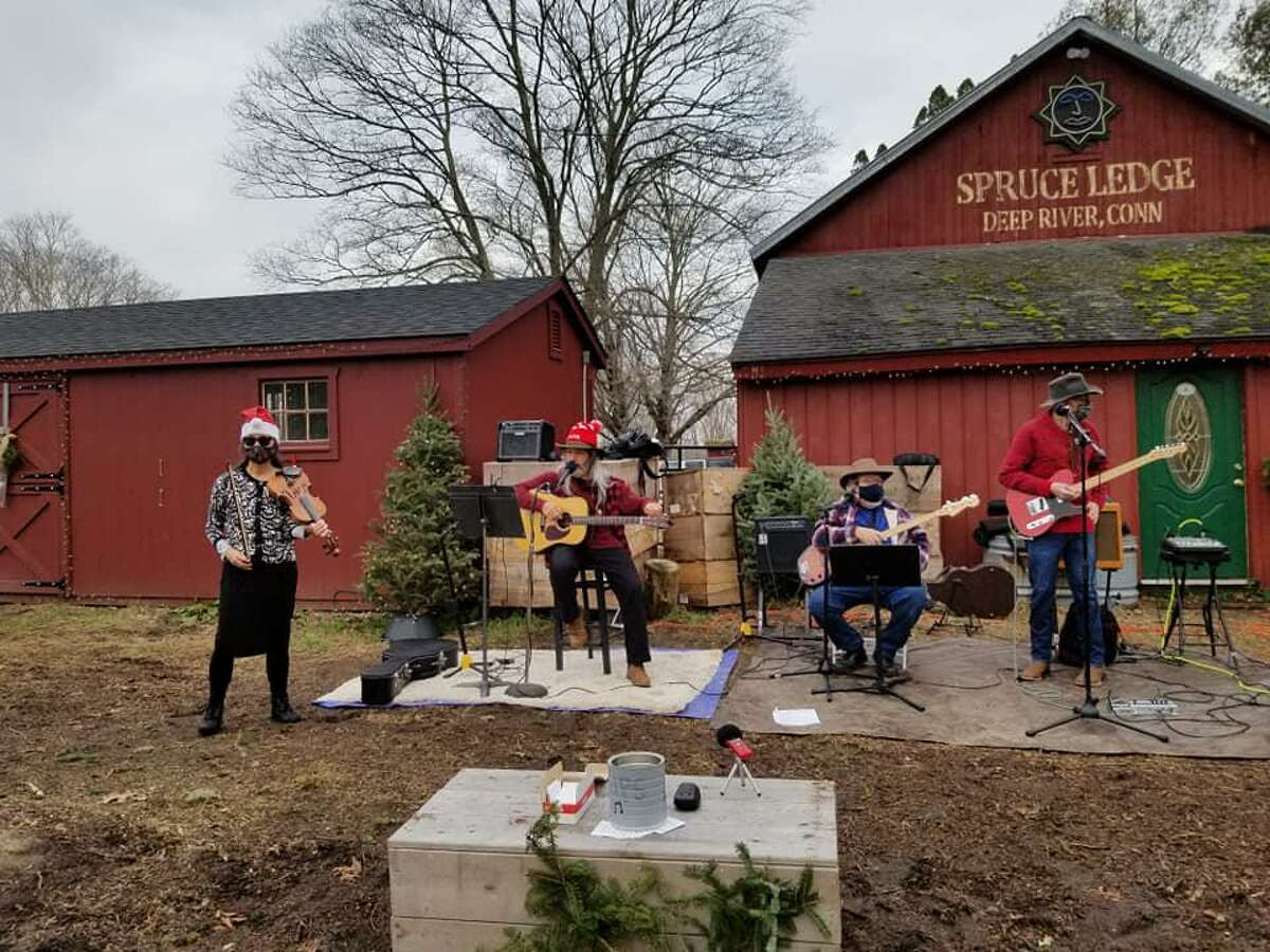 Cari Jansen, who owns the Spruce Ledge Tree Farm in Deep River with her husband, Garrett Sands, said they do not think the town should be charging them permit fees for the free concerts they have held on their property during the pandemic.