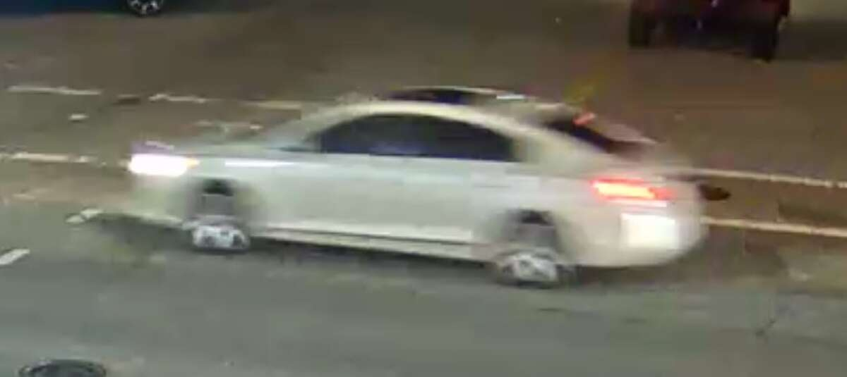 HPD released a photo of a suspect vehicle in the Tuesday night shooting.