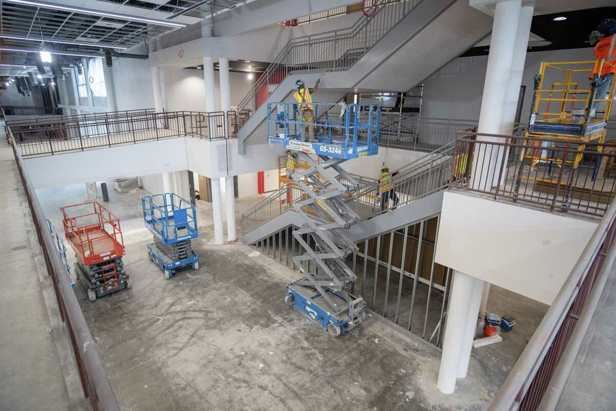 Phase 2 of construction of the new Bellaire High School building is compelete