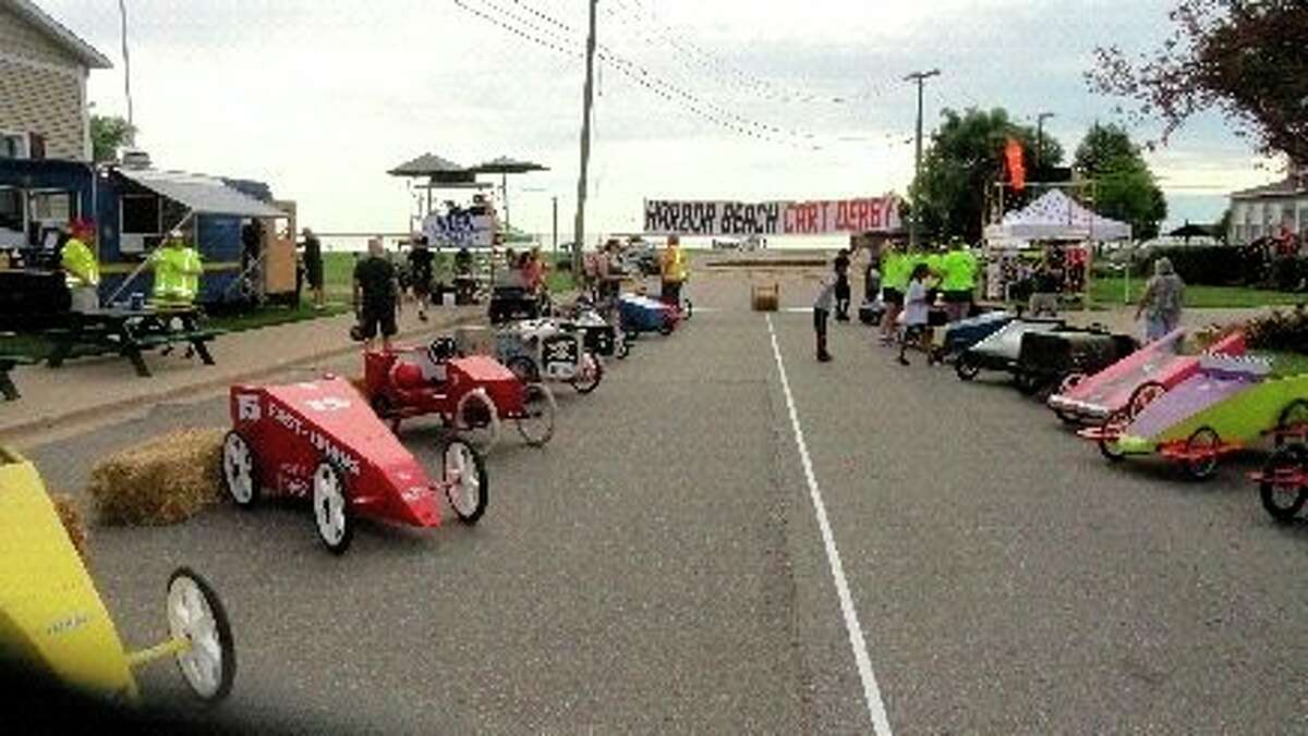 The Cart Derby returns to Harbor Beach this July. (Courtesy Photo)