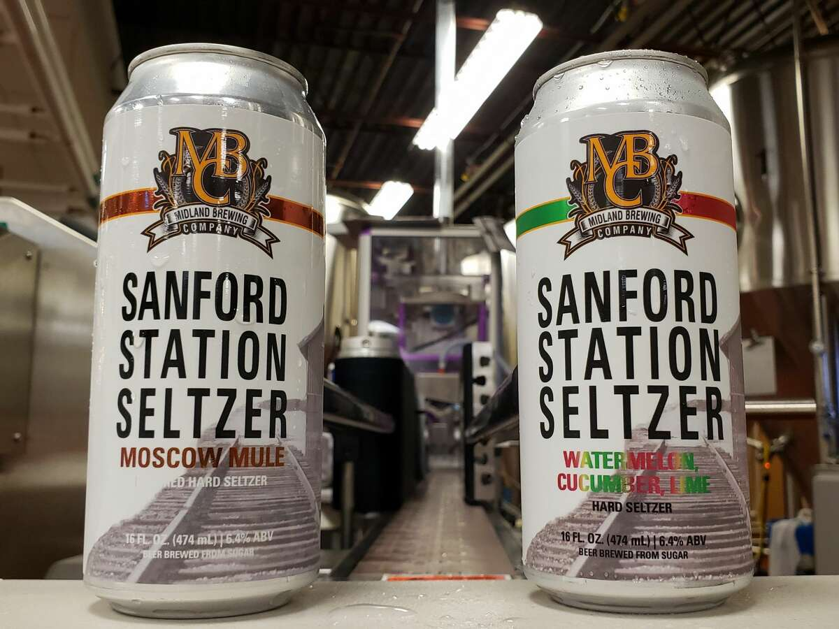 The Midland Brewing Company is launching the Sanford Station Seltzer in two cocktail inspired flavors.
