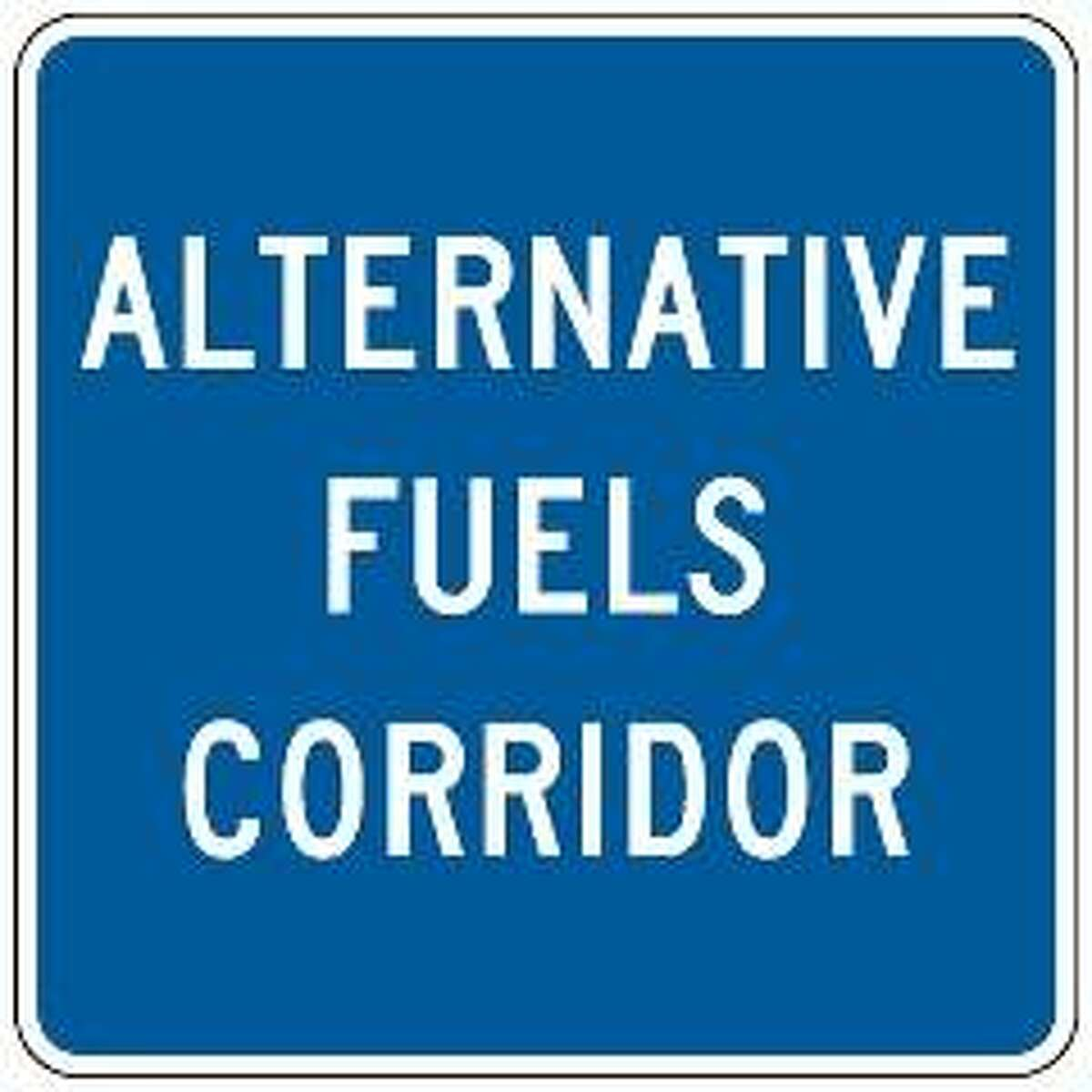 Illinois officials are now designating Alternative Fuel Corridors with special signs. In the Riverbend, the signs will appear on northbound I-55 at I-70/270.